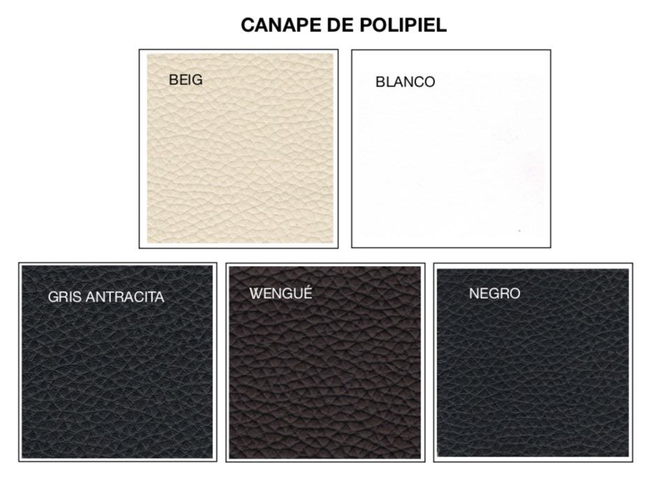 Colores Canapé Polipiel Novosueño