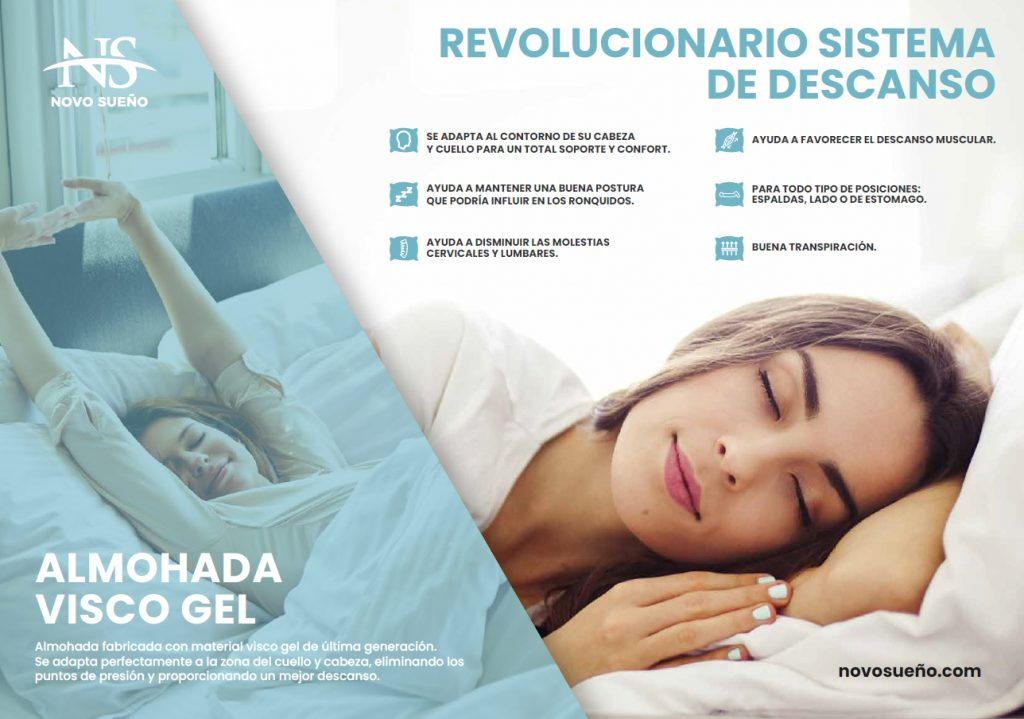ALMOHADA VISCO FRESH