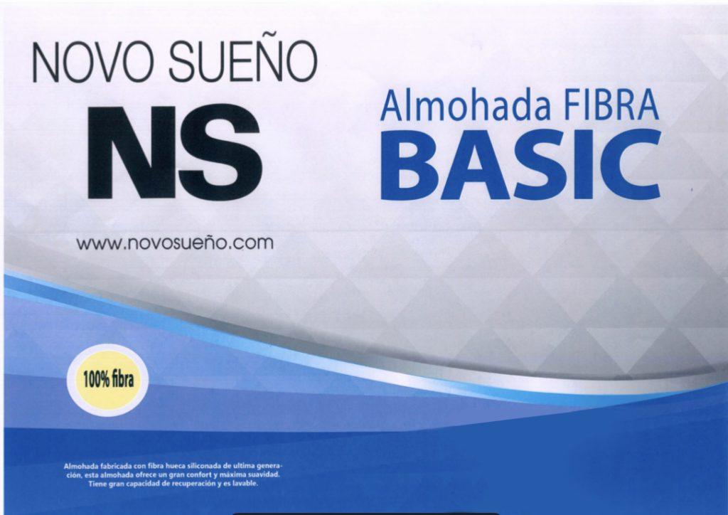 Almohada Fibra Basic Novosueño