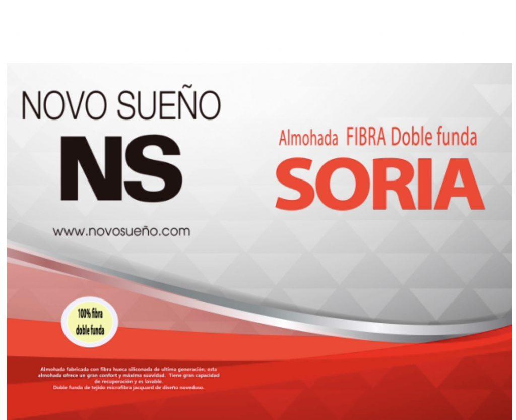 Almohada Soria Doble Funda