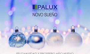 Palux y Novosueño te desean Feliz Navidad y Próspero 2019