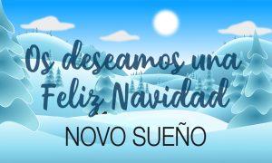 Desde Novosueño te deseamos una Feliz Navidad