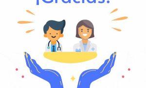 A todos los profesionales de la sanidad