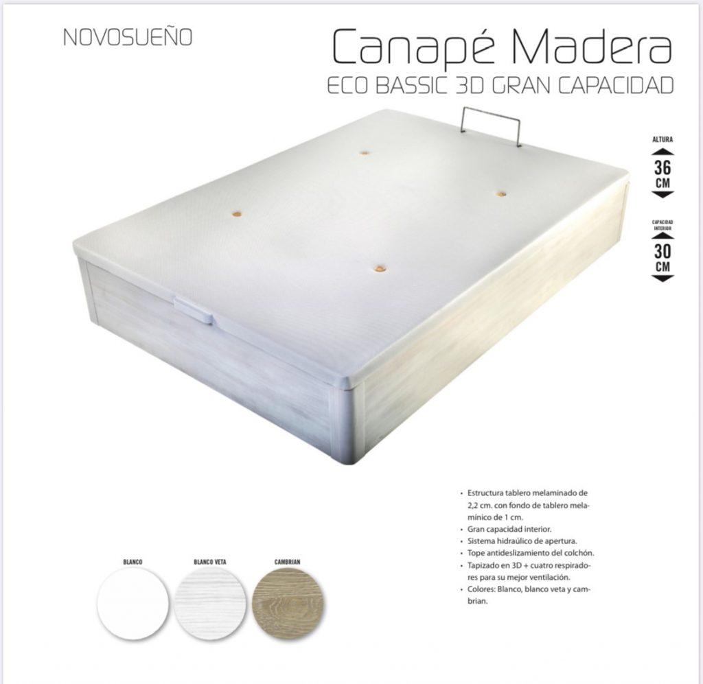 Canapé Madera Eco Bassic